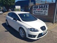 Seat Leon 2.0 TSI 2010MY Cupra 300 BHP White manual Car