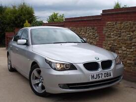 BMW 520 2.0TD 2007 d SE Silver - 80K, Doctor Owner, FSH, Lovely Spec!