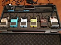 Boss Bass Pedals with Pedal Board (Boss - BCB-60)