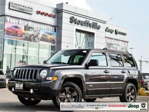2017 Jeep Patriot 75TH ANN. Comp CAR, Only 8,500 KMS