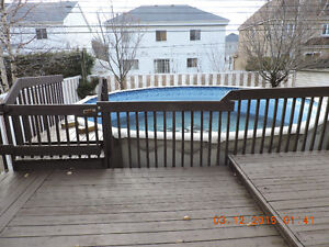 Above Ground Pool - Piscine Hors Terre EXCELLENT PRIX/PRICE
