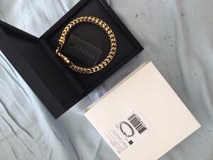 Brand New In Box Vitaly Gold Chain Bracelet