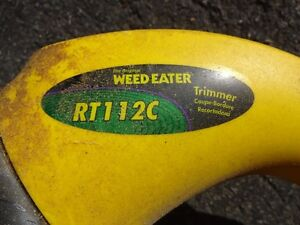 Weed Eater Electric Grass Trimmer