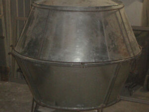 """1 NEW and 1 Used Commercial Smokers/Barbecues aprox.55""""x55""""x55"""""""