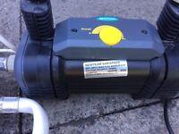 Variable speed water pumps