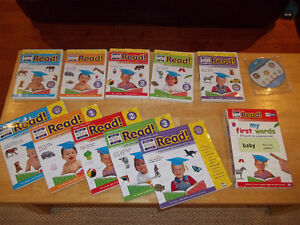 Your Baby Can Read Learning System DVD's and Books