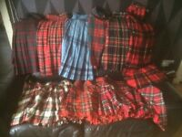 Selection of kilts for sale £15 each