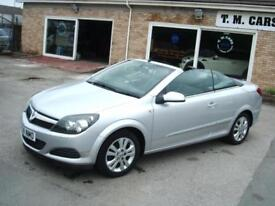 2008 (58) Vauxhall/Opel Astra 1.6 Coupe Convertible Twin Top Air