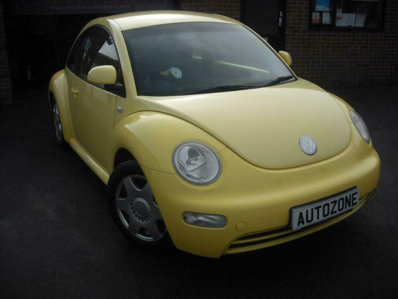 217393f3386 Volkswagen Beetle 8v 3dr PETROL MANUAL 2000 P
