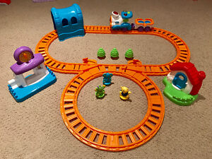 Bruin Toy Train and toddler bowling/games