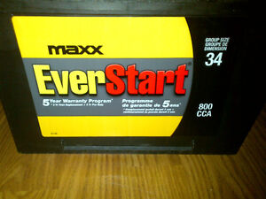 Walmart Battery MAXX-34N Group size 34 800 CCA 985 C Amps