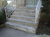 Concrete Stair Repair A1