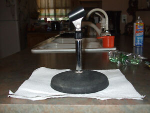 Desk Top Microphone Stand--Mic clip included Kitchener / Waterloo Kitchener Area image 1
