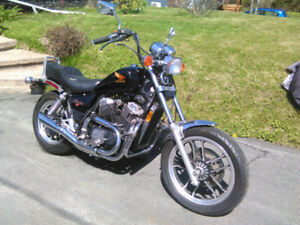 1984 Honda Shadow 500cc Motorcycle