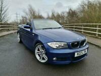 2009 09 BMW 120D M Sport Convertible Blue Manual Private plate *PX to clear*