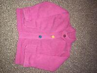 Pink cardigan 18-24 months