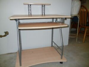 "31.5"" W x 24 D computer table"