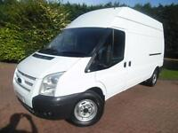 2012/62 Ford Transit T350 2.2TDCi 125PS LWB HIGH ROOF PANEL VAN