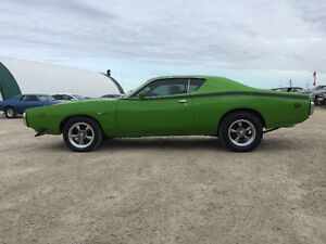 1971 Dodge Charger Documented Super Bee Big Block 4spd