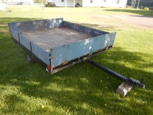 Utility Trailer 6' x 8' With Front and Rear Gates