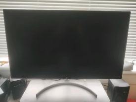 "LG 32"" 1440P 75hz Freesync Monitor with Displayport Cable"