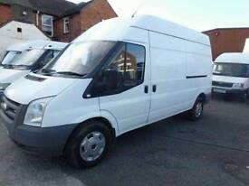late 06 mk7 ford transit 2.4 115bhp rear wheel drive long wheelbase high roof for parts