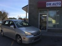 2004 Suzuki.all will drive. coms with E test,safet,& car proof,