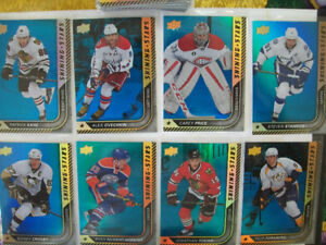 1015-16 upper deck portraits and shining stars blue and regular