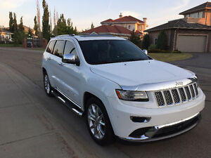 2014 Jeep Grand Cherokee Summit 4x4, Pano sunroof, Hemi, loaded