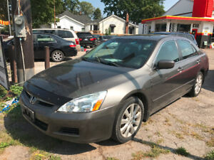2007 Honda Accord EX-L  Fully Loaded!! Sunroof!! Certified!