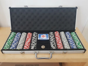 Poker Set - Excellent condition clay poker chips!