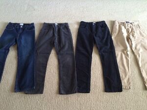 Children's Place and Old Navy Boys Pants - 4 Pairs - Size 10