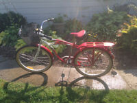 Red 70th anniversary Supercycle Comfort Cruiser