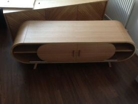 Stylish Fonteyn Media unit from Made. Ex Display piece with slight cosmetic damage. RRP £499