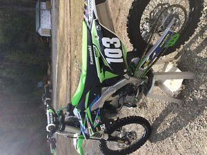 2015 KX 250 F only 35 hours