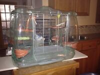 Vision bird cage and stand