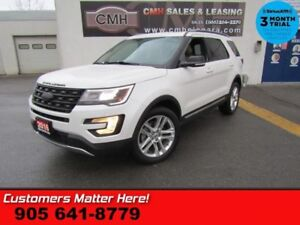 2016 Ford Explorer XLT  4X4 NAV LEATH DUAL-ROOF 20 -ALLOYS P/GAT