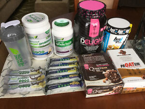 Assortment of GNC products