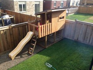 Kids Fort / play house Cambridge Kitchener Area image 1