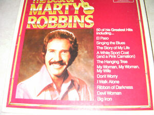 The best of Marty Robbins on vinyl (5 LPS)