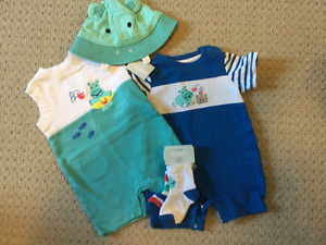 12-18M Gymboree Summer Rompers
