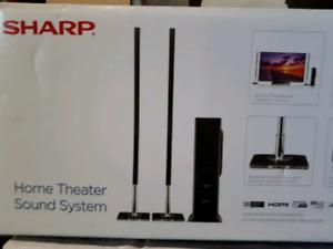 Sharp sound bar system