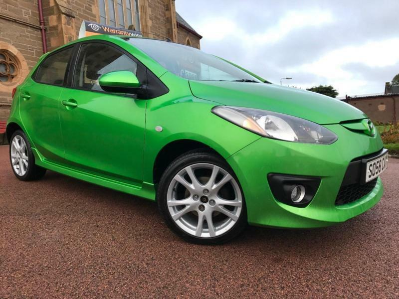 *6 MTHS WARRANTY*2008(58)MAZDA 2 1.5 SPORT 5DR IN THE LIMITED EDITION COLOUR*61K