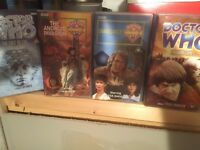 Doctor Who on VHS tapes!!!!