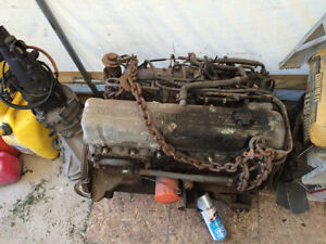 Datsun 280 ZX engine and parts