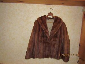 Womens fur jacket