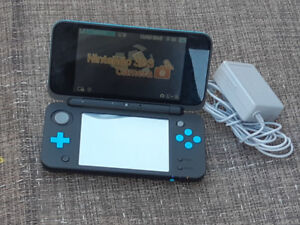 new Nintendo 2DS xl with smash bros game