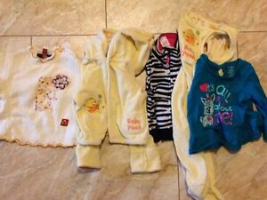 Box of baby girl size 3 months to 12 months clothes. Kitchener / Waterloo Kitchener Area image 2