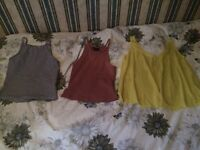 New look and miss selfridge size 10 job lot summer tops