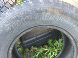 245/70/17 tires set of two